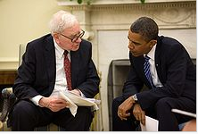 Warren Buffet and Barack Obama